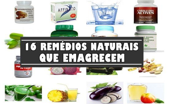remedio natural para emagrecer