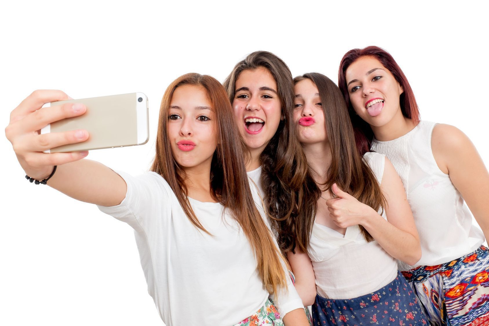 selfie com amigas