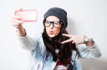 Tirar uma selfie
