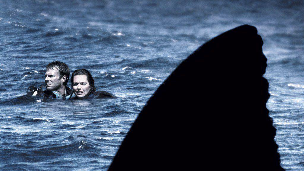 tubarão com terror