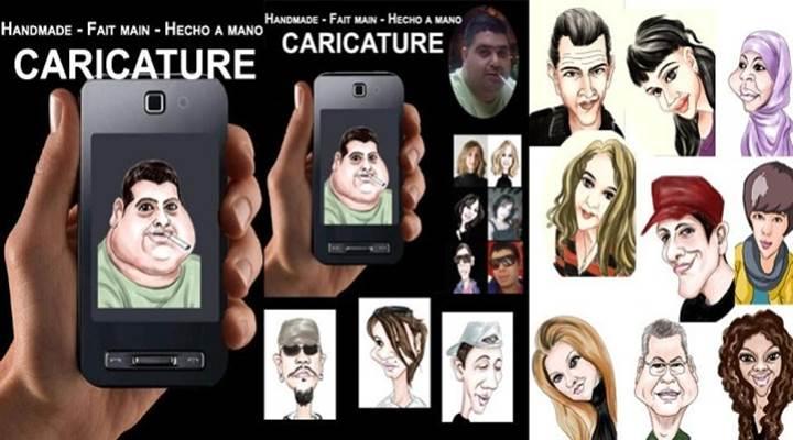 App de Caricatura