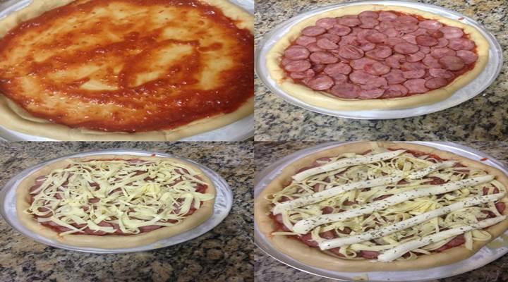 Como fazer pizza simples