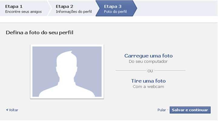 fazer facebook